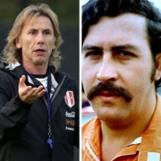 Popeye, Ricardo Gareca y Pablo Escobar
