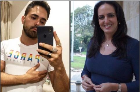 Pedro Santos y María Fernanda Cabal