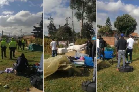Cambuches en Bogotá