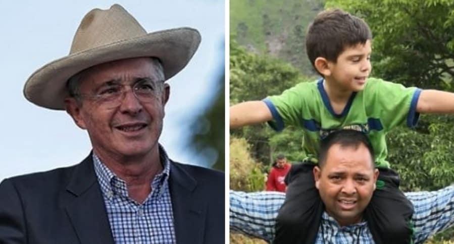 Álvaro Uribe y Cristo José