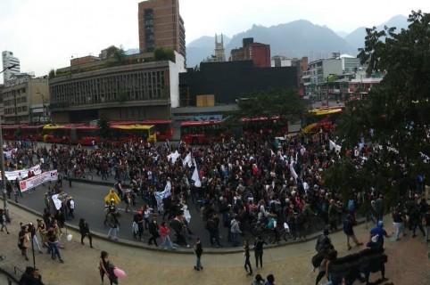 Marchas en Bogotá