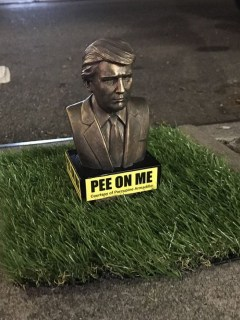 Estatuas Trump