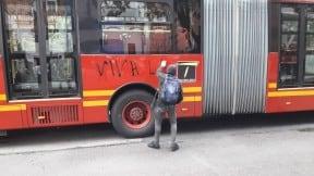 Vandalismo en Bogotá