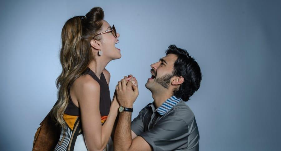 Mariana Gómez y Variel Sánchez, protagonistas de 'Loquito por ti'