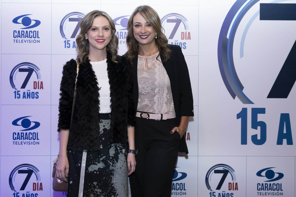 Catalina Gómez y Mónica Jaramillo