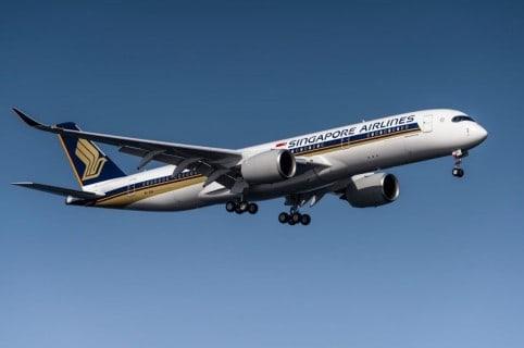 Avión Singapure