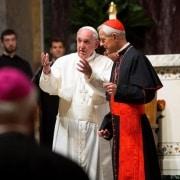 Papá Franciso y Donald Wuerl