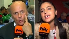 Carlos Antonio Vélez y Sheyla García