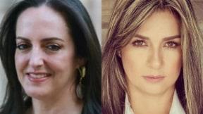 María Fernanda Cabal y Vicky Dávila