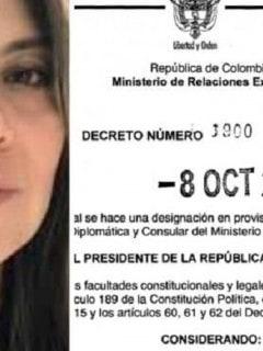 Erika Salamanca y decreto
