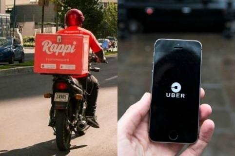 Rappi y Uber