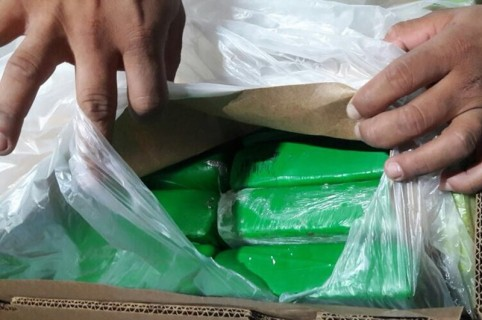 Paquetes de cocaína