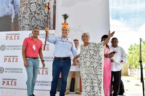 Iván Duque en La Guajira