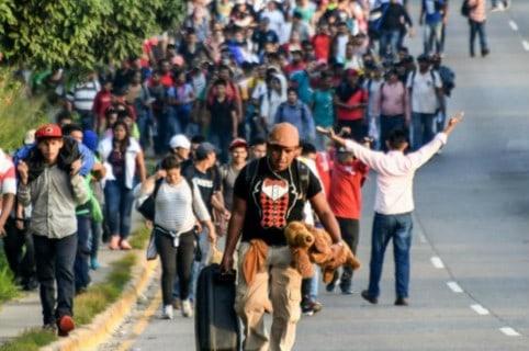 Éxodo Honduras