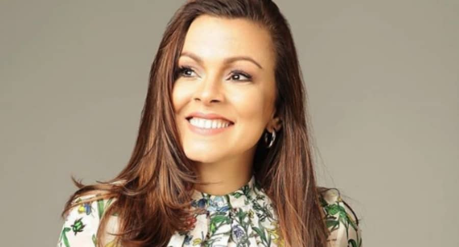 Mónica Layton, actriz colombiana.