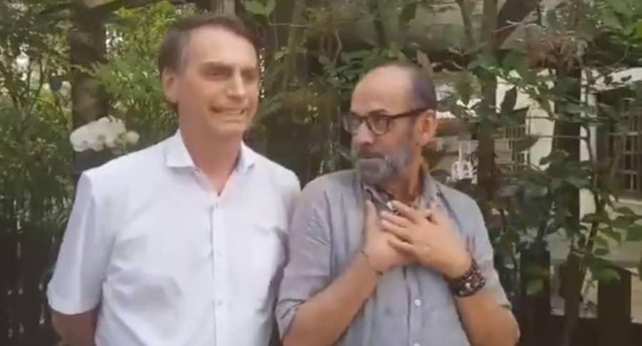 Bolsonaro con Gay
