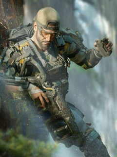 Tavo Rojas, alias 'Nomad' en  'Call Of Duty BlackOps 4'