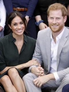 Meghan Markel y el príncipe Enrique de Inglaterra