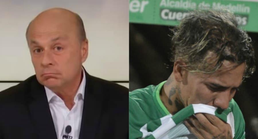 Carlos Antonio Vélez y Dayro Moreno