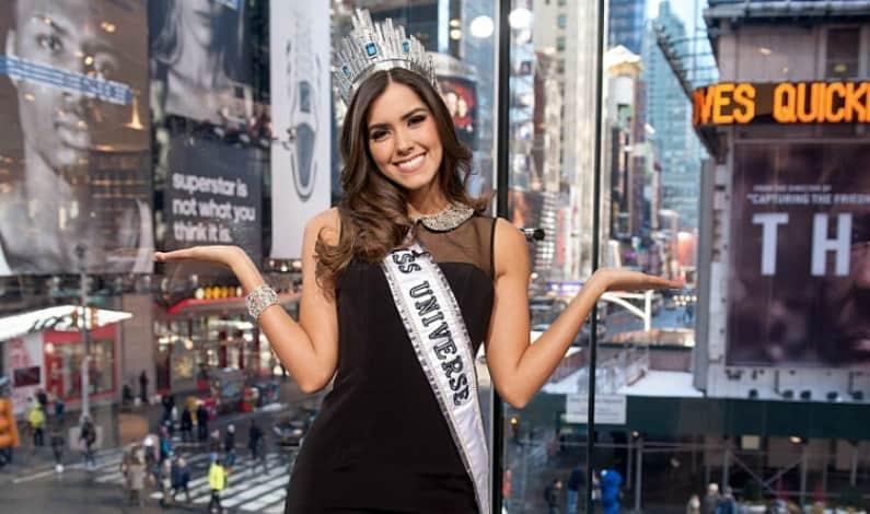 Paulina Vega, exreina de belleza.