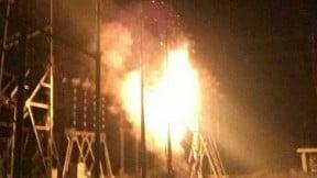 Explosión en una central eléctrica  de Venezuela.