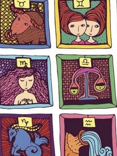 Signos del zodiaco.