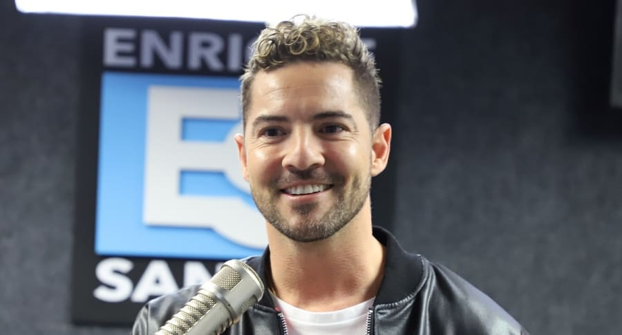 David Bisbal, cantante.