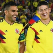 Falcao, James y Diego Rueda