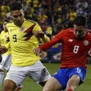 Costa Rica vs. Selección Colombia
