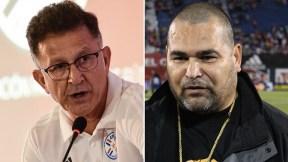 Juan Carlos Osorio y José Luis Chilavert
