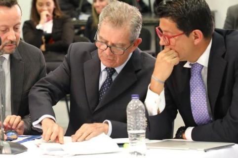 Mario Montoya en la JEP