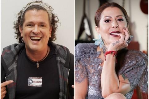 Carlos Vives y Alejandra Guzmán