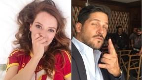 Carolina Acevedo y Roberto Cano, actores.
