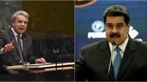 Lenín Moreno y Maduro