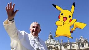 Papa Francisco y Pikachu