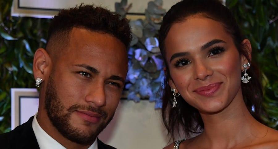 Neymar y la actriz Bruna Marquezine