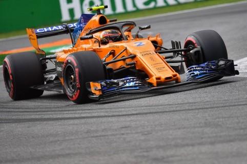 Monoplaza de la escudería McLaren