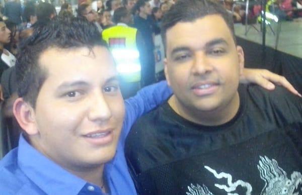 Daniel Solano y Rolando Ochoa