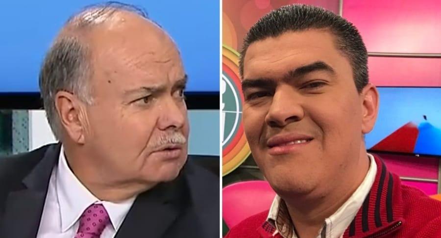 Iván Mejía y Eduardo Luis López
