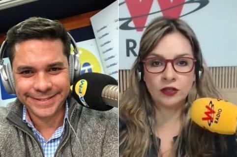 Luis Carlos y Vicky Dávila