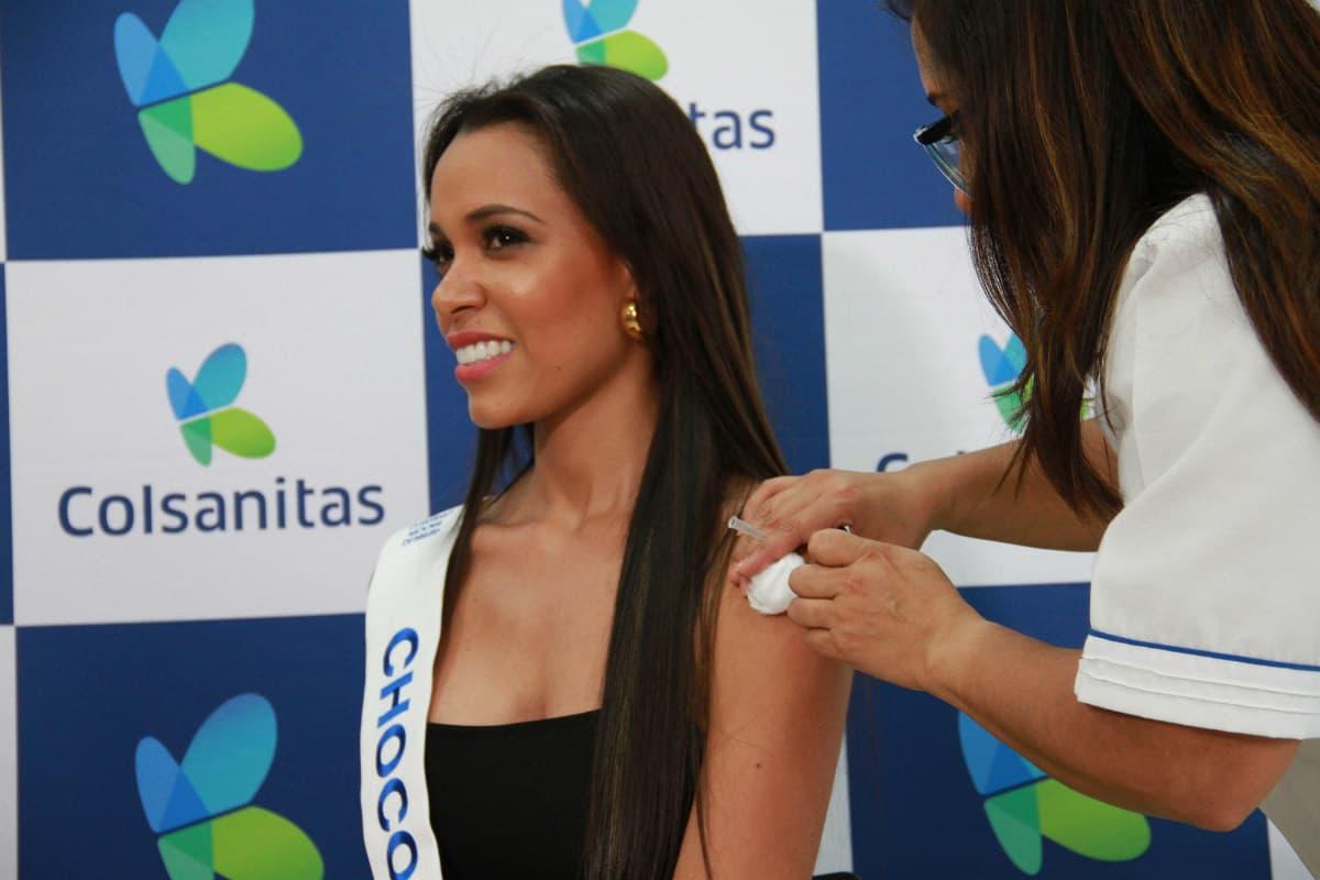 Señorita Chocó Libia Marcella Salamandra Pacheco