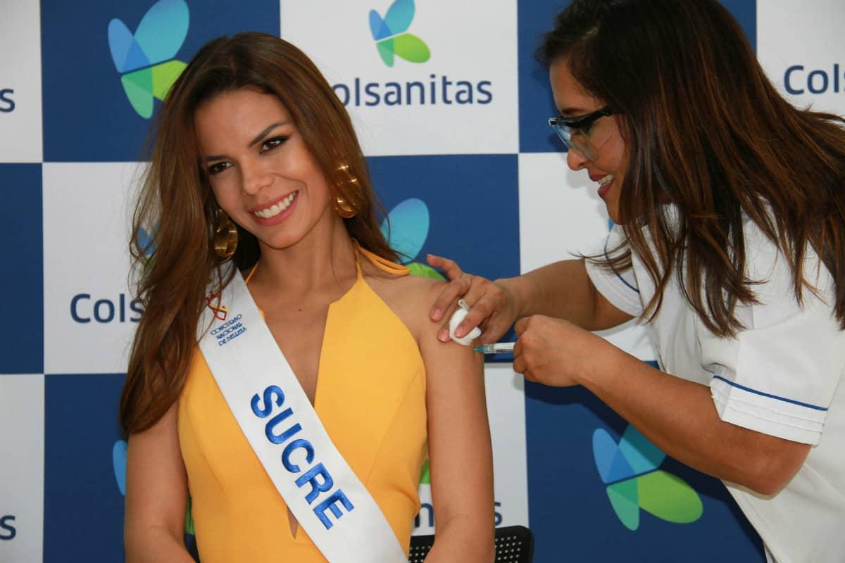 Señorita Sucre Carmen Sofía Maury Atencia