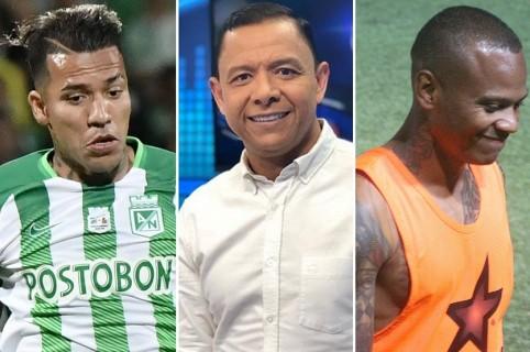Dayro Moreno, Iván René Valenciano e Iván Ramiro 'Manga' Escobar