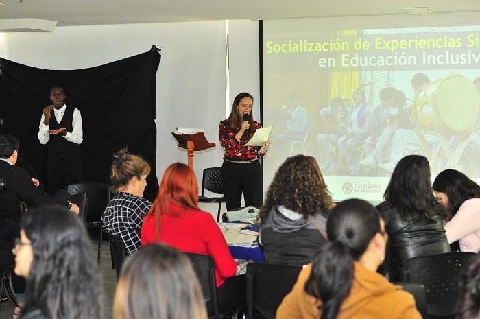 Evento educación inclusiva
