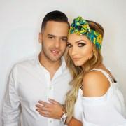 Kimberly Reyes y Federico Severini
