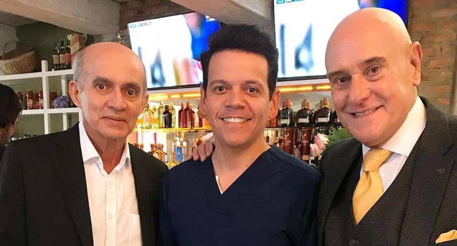 Jairo Camargo, Aco Perez y Jorge Cao