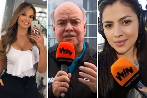 Melissa Martínez, Iván Mejía y Sheyla García