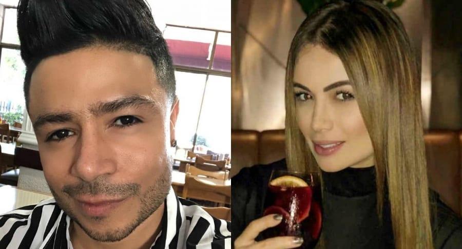 Daniel Calderón y Sara Uribe