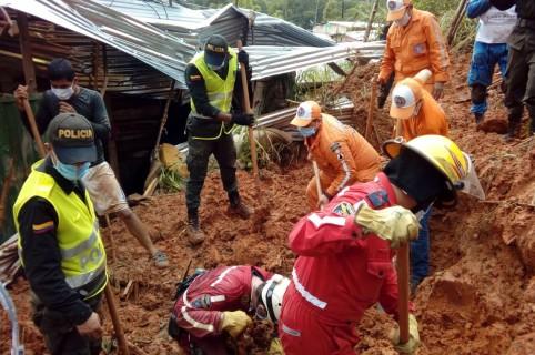 Deslizamiento en Barrancabermeja