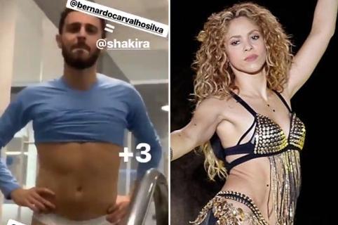 Bernardo Silva y Shakira